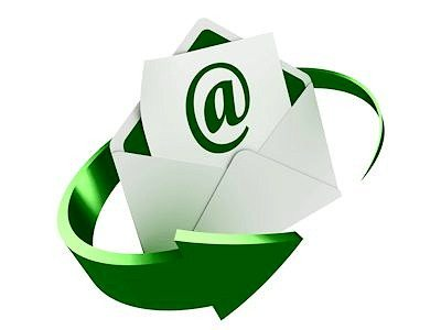 email green envelope 400