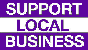support local business Facebook group